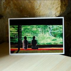 """carte postale """"Ohara, dans les environs de Kyoto"""" - épuisé"""