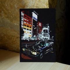 """carte postale """"Shinjuku, Tokyo"""" - 3€"""