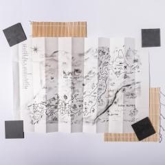 carte du Japon ここから - épuisé