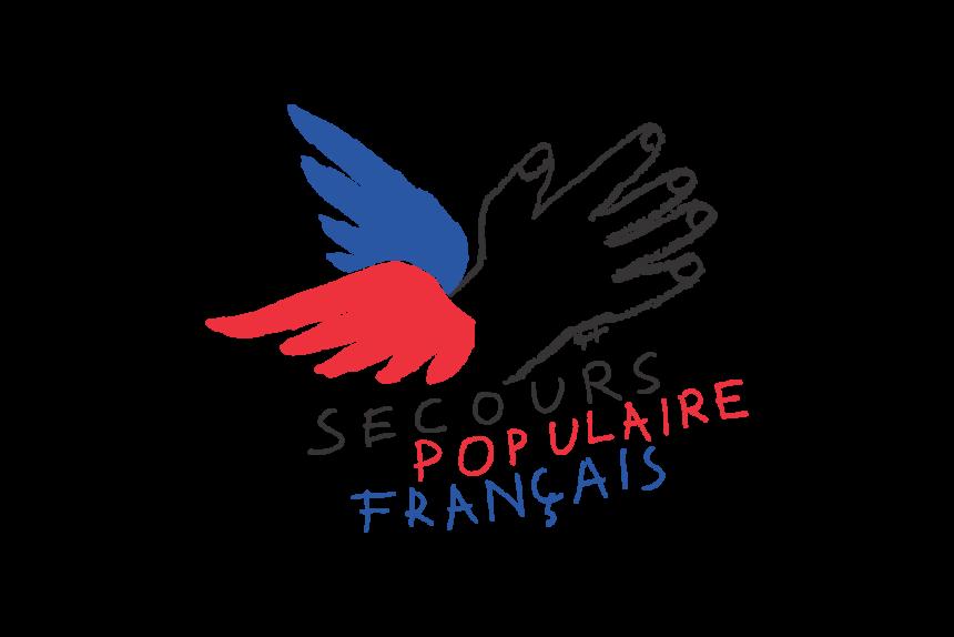 Logo Secours_Populaire_Francais